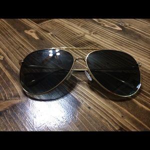 NWOT DIFF Eyewear Nala Aviators